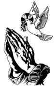 Praying hands Holy Spirit