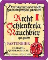 Fastenbier label