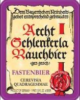 Fastenbier label