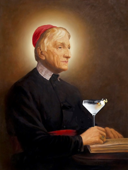 John Henry Newman photoshopped